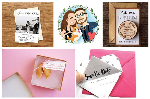 11 Unique And Special Save The Date Ideas Just For You!