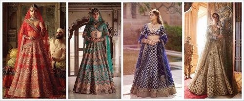 12 Beautiful Bridal Lehenga Designs To  Match Your Zodiac Sign!