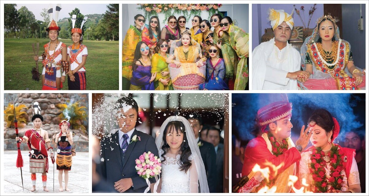 Exploring Northeast India: Some Unique and Interesting Wedding Rituals of The Seven Sisters