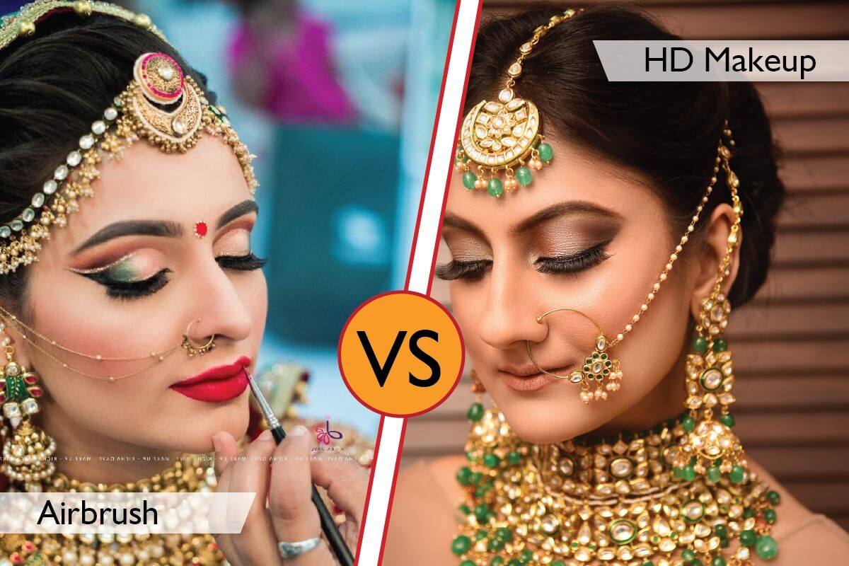 Airbrush vs HD Makeup Compare With 100+ Images? Which One Is Better?