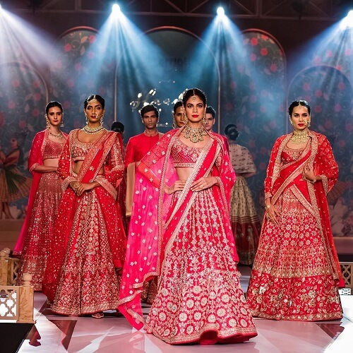 Rock These Bright Colors By Anita Dongre On This Weddin...