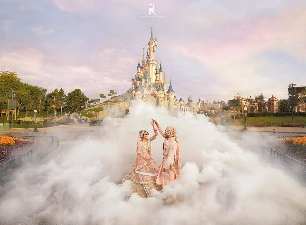 This Couple Set The Bar High Up By Hosting Their Fairytale Wedding At Disneyland