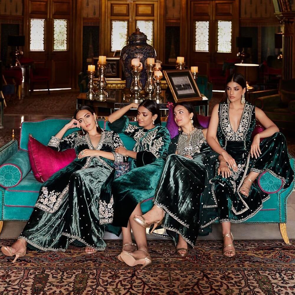 6 Elegant Mehndi Dresses Designed By Anita Dongre