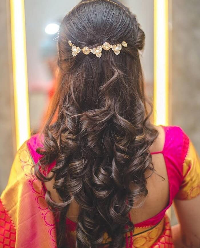 Top 11 Bridal Hairstyles For Curly Hair To Rock On Your D Day