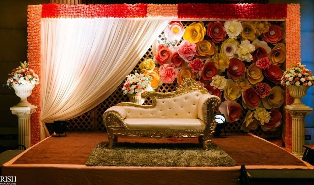 11 Fabulous & Stunning Reception Stage Decoration Ideas For Your Wedding Festivities