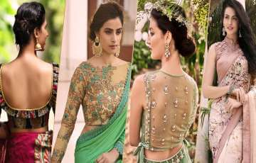 Best Blouse Designs 2021 For Indian Wedding Seasons: Tr...