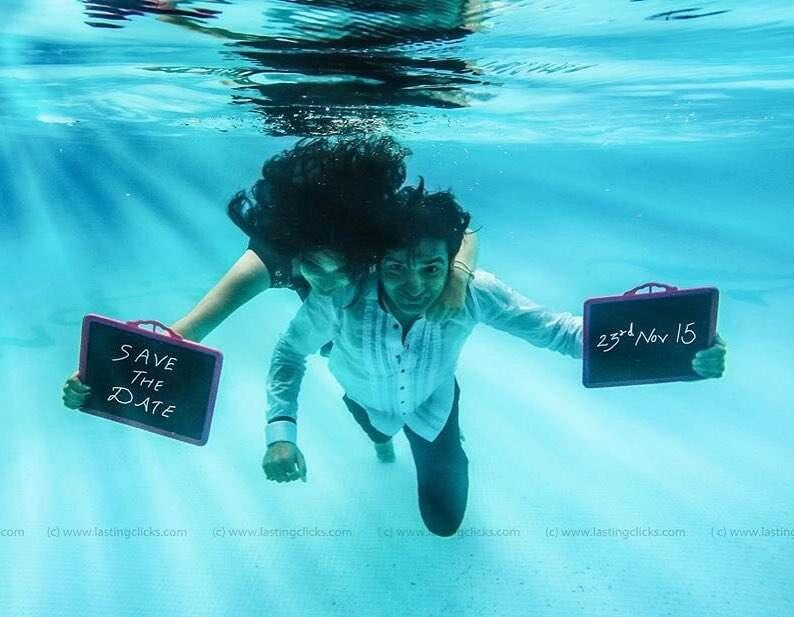 11+ Stunning Underwater Photoshoot Ideas For Your Pre-Wedding Photography