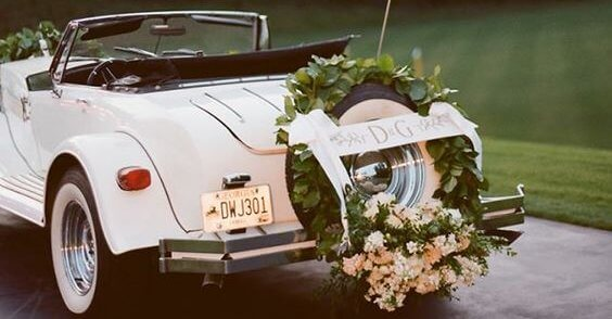 10 Awe-Inspiring Wedding Car Decoration Ideas for an Unforgettable Send-Off
