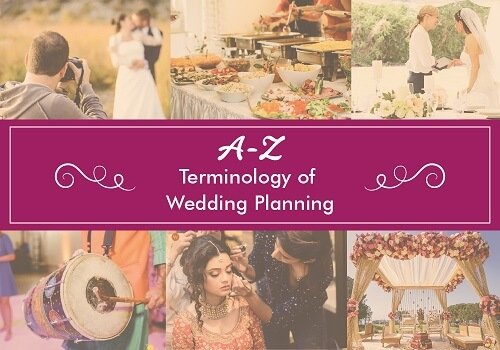 Glossary Archives: The A-Z Terminology of Wedding Planning