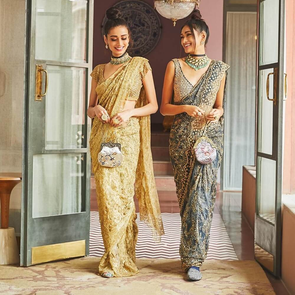 51 Majestic Bridal Sarees From Ace Designers To Make You Shine Like A Diva At Your Nuptials