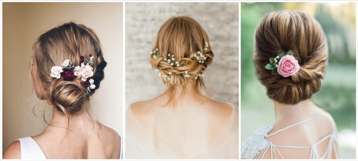 Florid Bridal Hair Pins That Are Essential For Brides' Wedding Ensemble