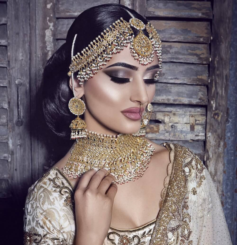 Time-Honoured Choker Necklace Designs Complementing Your Bridal Looks