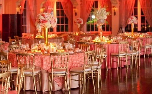 Captivating Coral Wedding Decoration Ideas That Are Straight Out Of A Fairytale