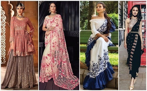 12 Top Beautiful Diwali Outfit Ideas For Newlywed Brides