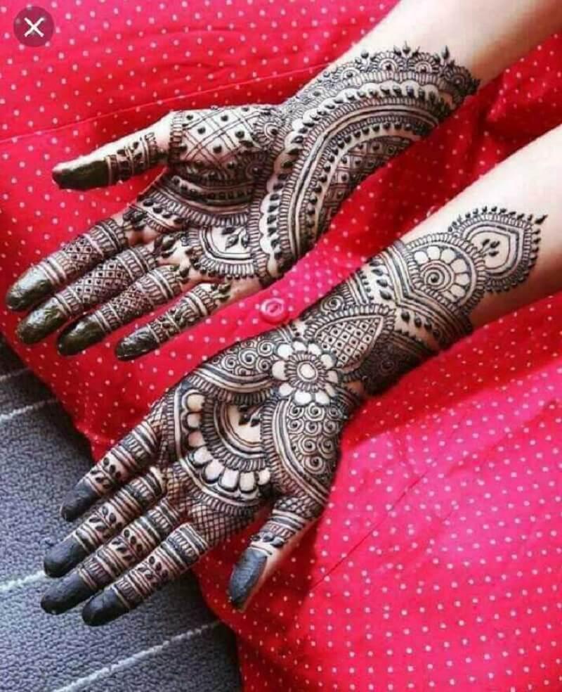 karva chauth mehndi design 2020 full hand