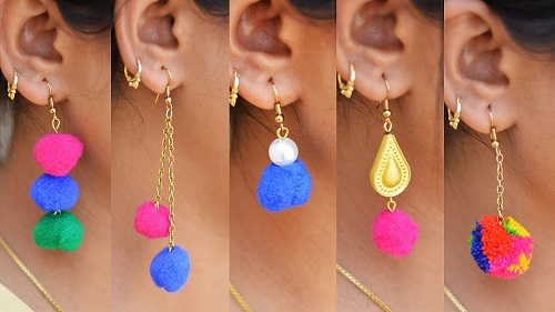 Trendy and Stylish Home-Made Designs of Earrings for All Beautiful to-Be-Brides