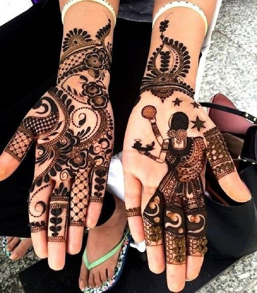 51 Fascinating Karwa Chauth Mehndi Designs For Newlywed Brides