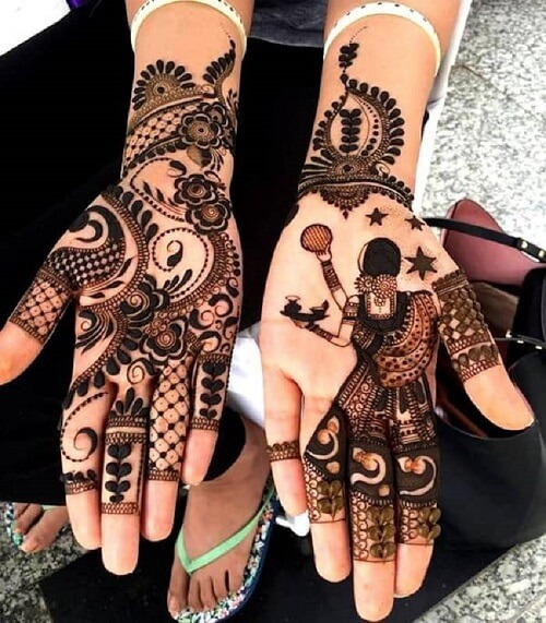 51 Fascinating Karwa Chauth Mehndi Designs For Newlywed...