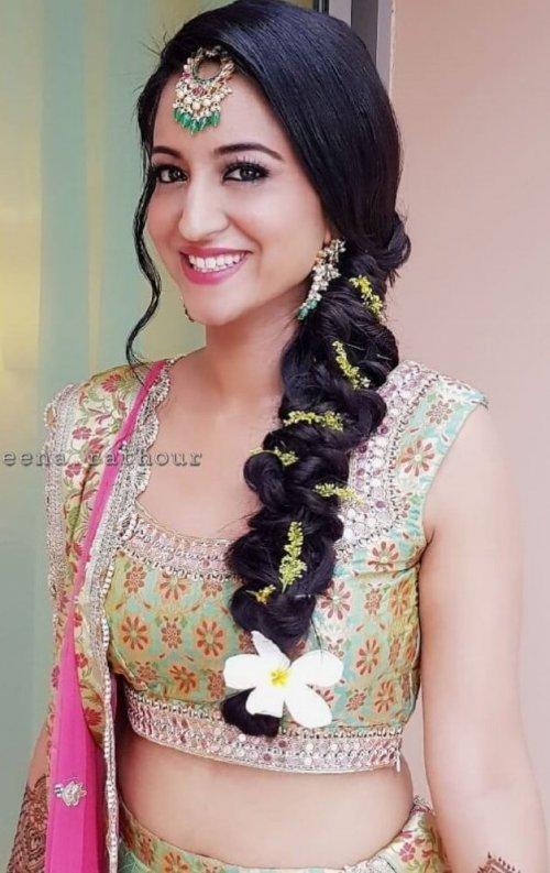 91 Gorgeous Indian Bridal Hairstyles For Short Medium Long Hair