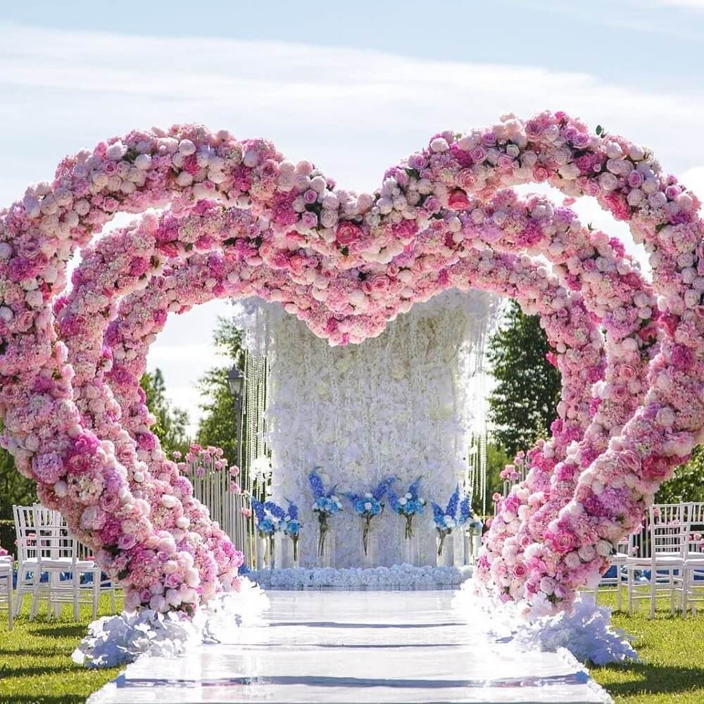 Cutesy Little Ways To Make Wedding Heart Decoration A Part Of Your Nuptials