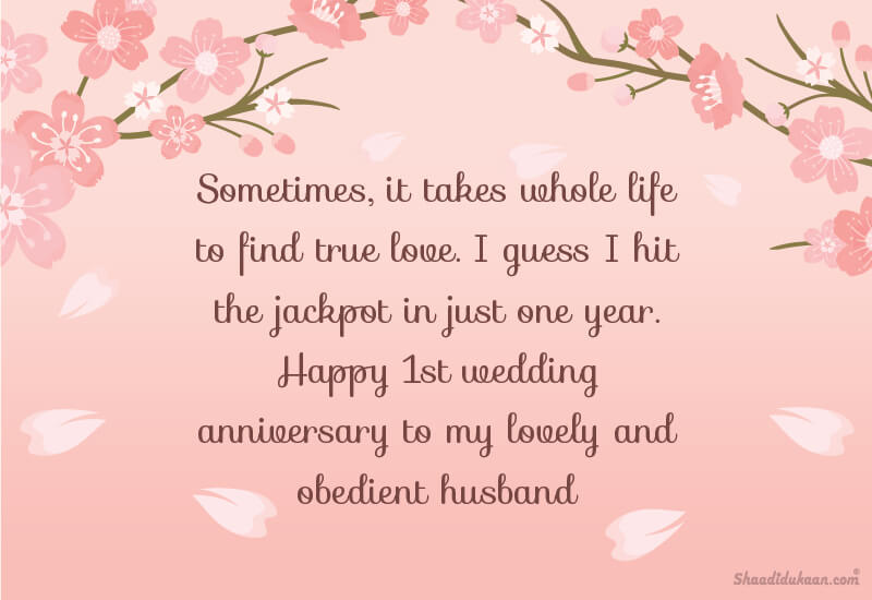 Best Wedding Anniversary Wishes For Husband - Quotes & Messages