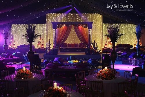 Majestic Mughal Theme Décor Inspiration To Turn Your W...