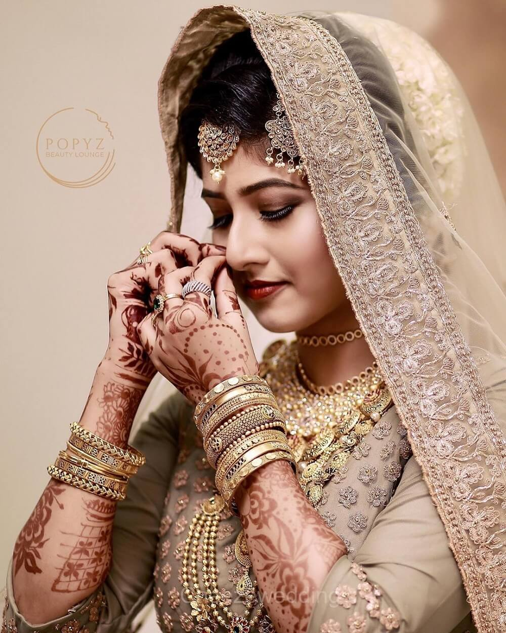 12 Scintillating Real Brides Adorning Their Smokey Eyes And Stealing Our Hearts Like A Pro