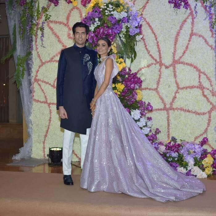 Celebrity Wedding Reception Decor: Vivaah 2019: Sooraj Barjatya's Son Devansh And Nandini's
