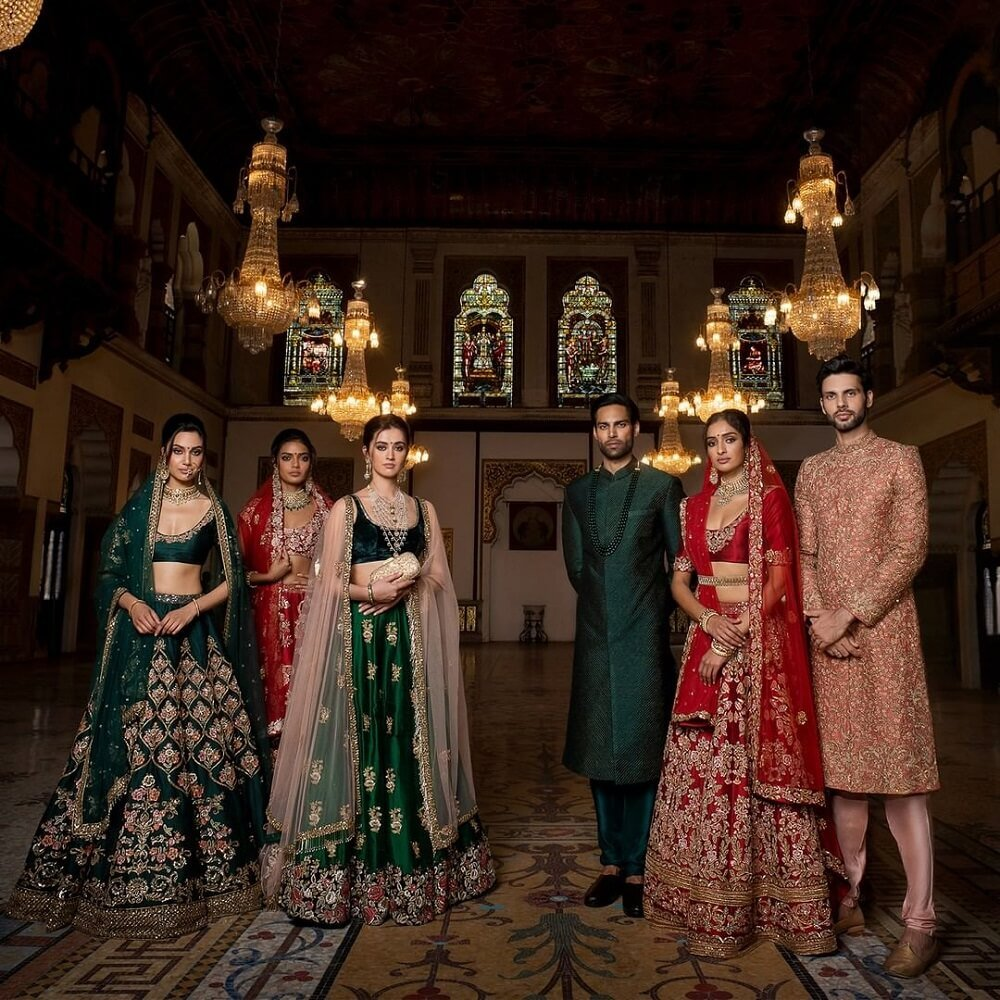 Memoirs Of A Maharani: Bespoke Coordinated Outfits By Shyamal & Bhumika