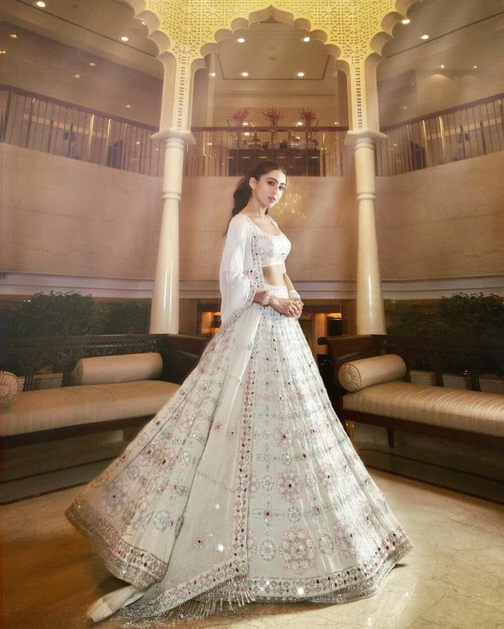 Wedding Dress Ideas Picked Straight From The Wardrobe Of Sara Ali Khan For This Wedding Season!