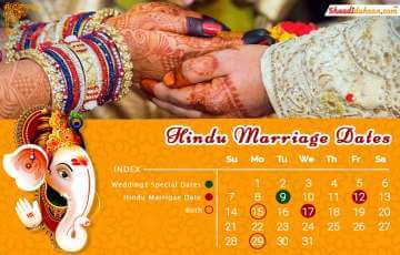 Auspicious Wedding Dates In 2019 For All Going To Be Ne...