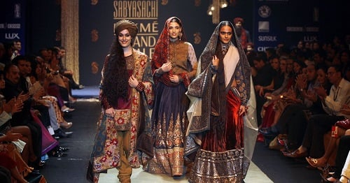 He's the Phantom Thread: Sabyasachi Mukherjee's Personal Show, Khasgaar Bazaar, 20 Year of Celebration in the Fashion World