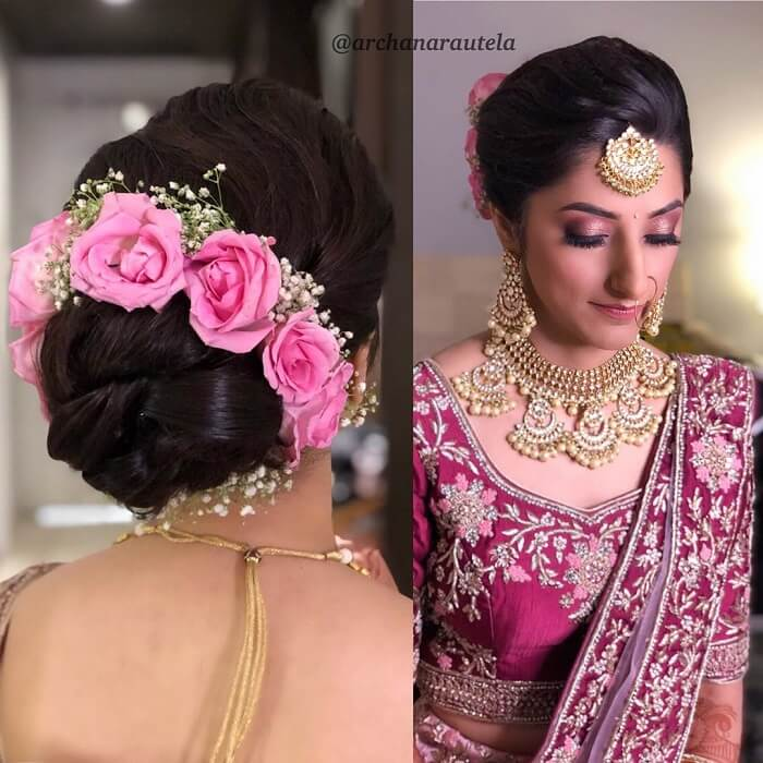 Engagement Hairstyles For Indian Brides Don T Miss These All
