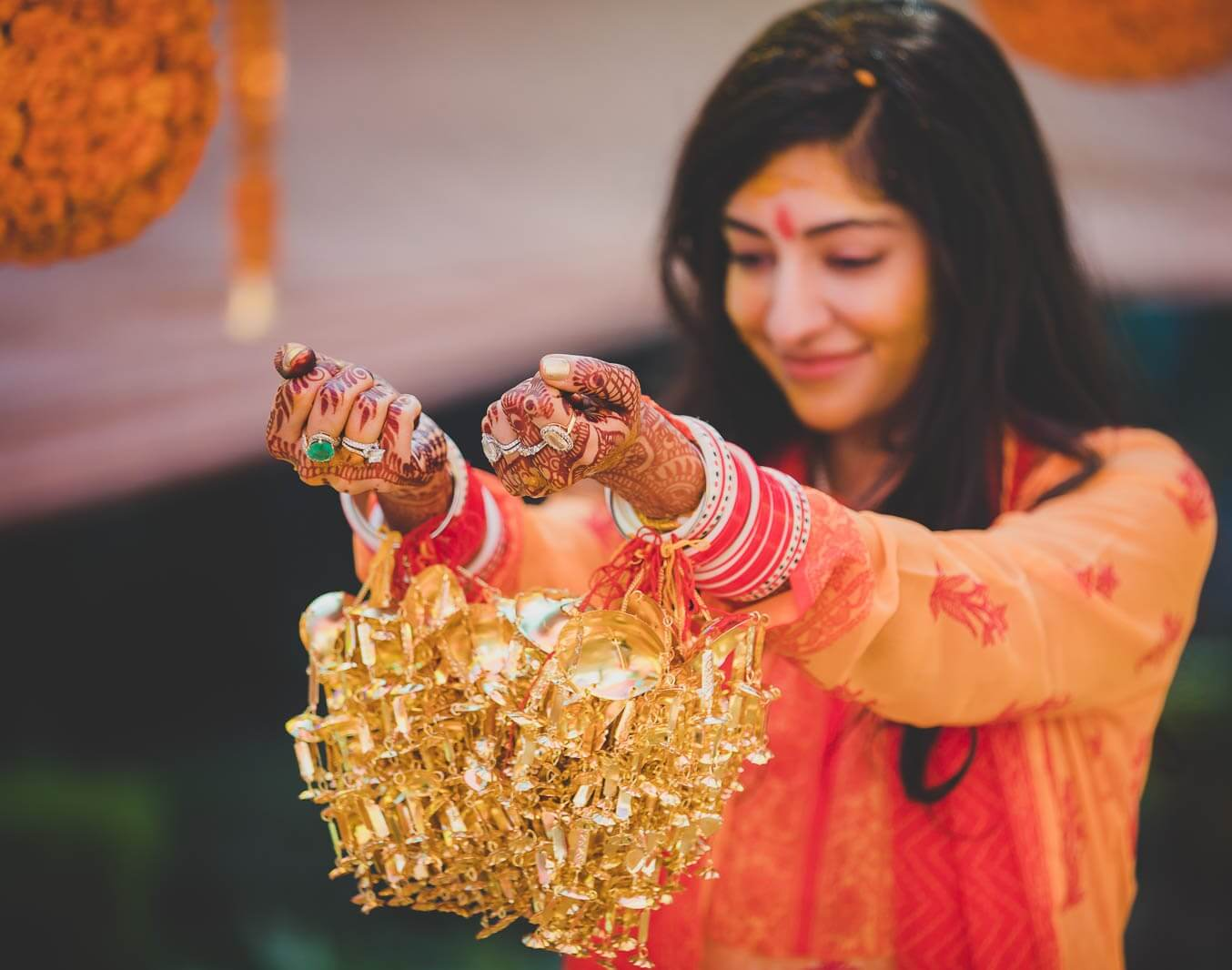 Kaleeras that Enchant The Auspiciousness and Ecstatic Love in The Bride's Wrists