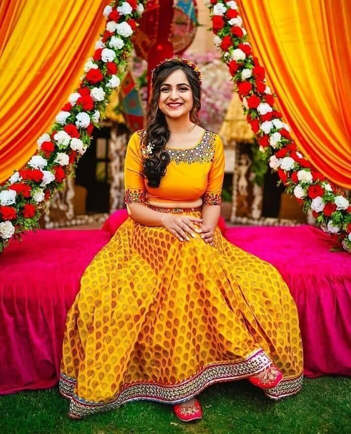 Attractive Wedding Dress Code Ideas For Haldi, Sangeet