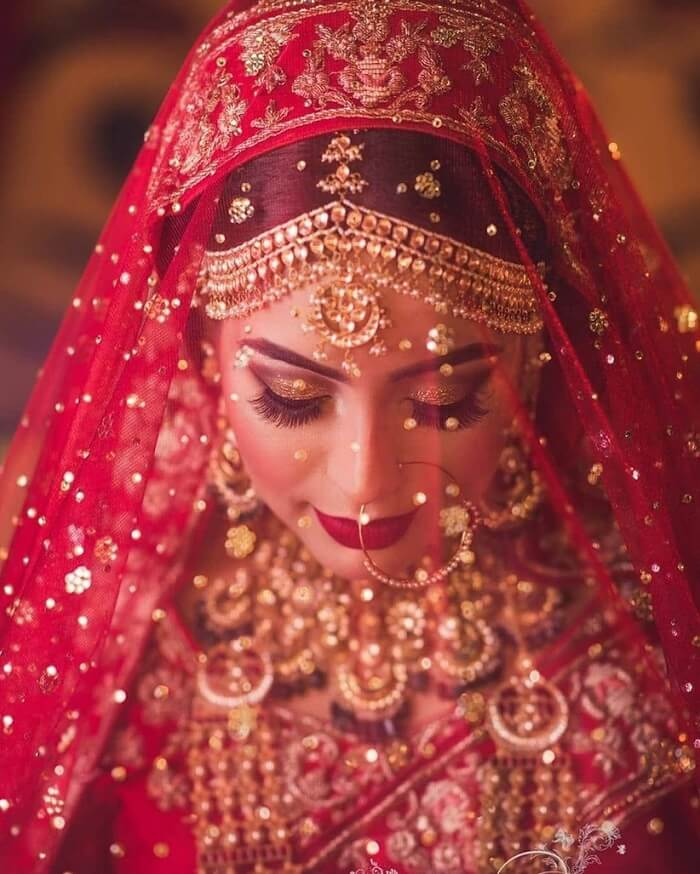 Best Net Dupatta Designs for Glamorous Brides: Why Hide Behind Veil!