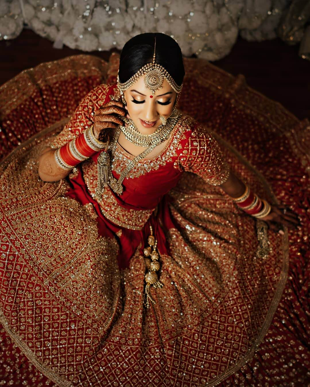 Seductive Bridal Lehengas for Your Bridal Photography: See Them All and Buy Them All