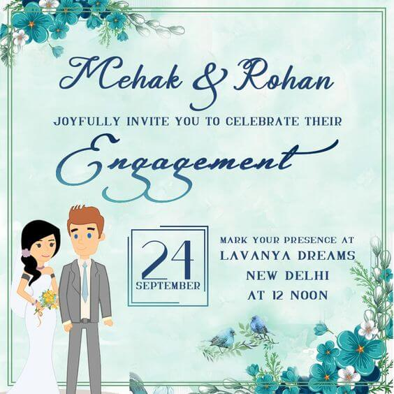 Creative Invitation Card Designs for Your Engagement: Jazz up and Design up Your Ceremony