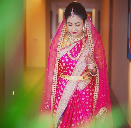 Exquisite Pink Color Sarees for You Brides: Pink Me This Wedding Season