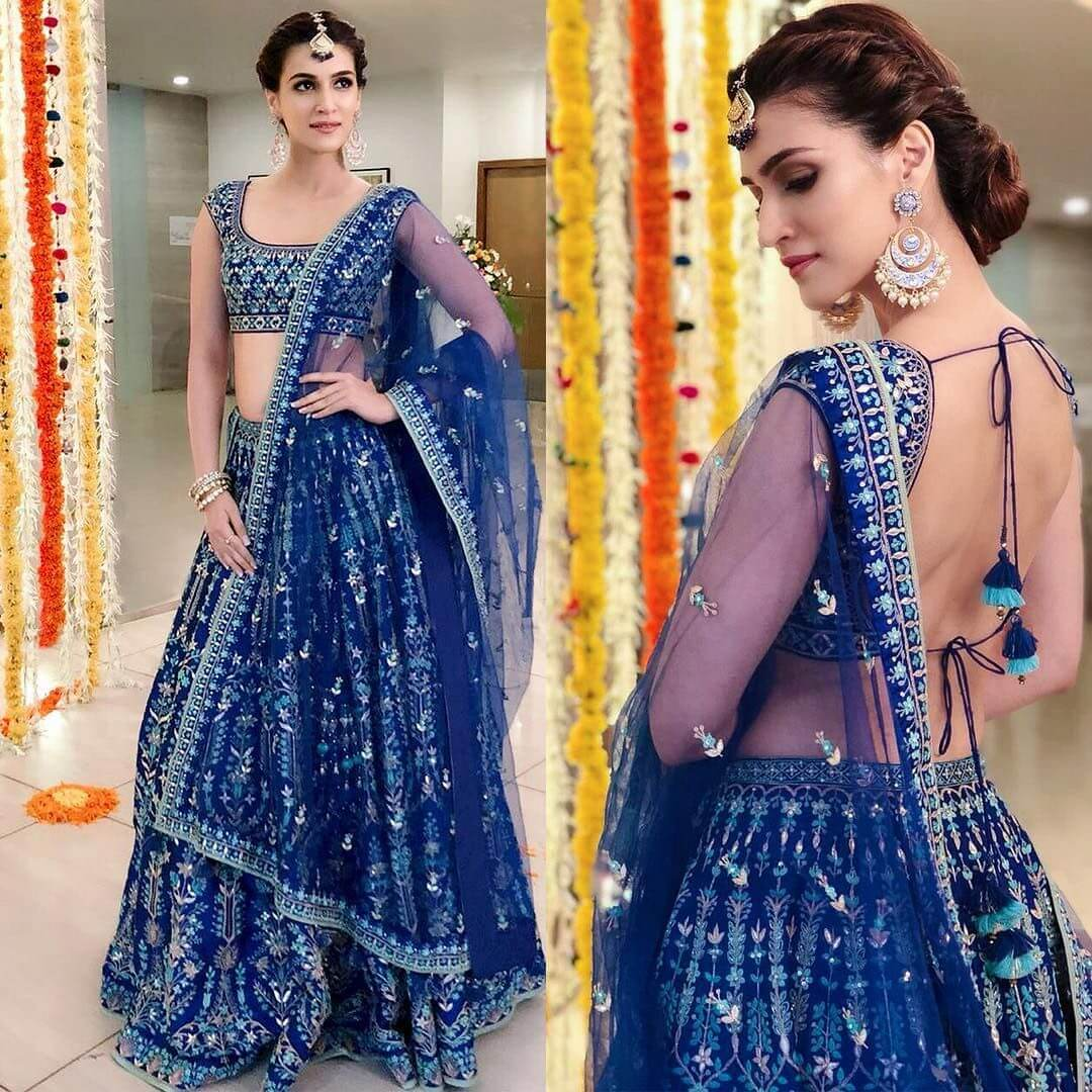 15 Latest Elegant and Mesmerizing Hairstyles for Lehenga Choli