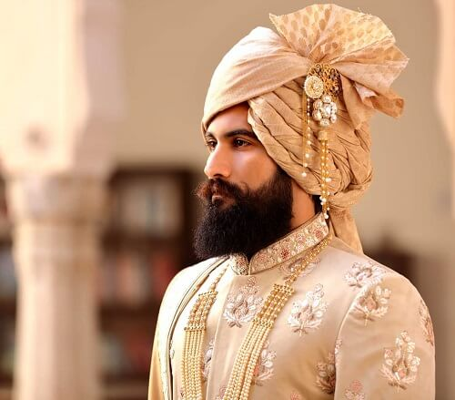 Stylish Indian Beard Styles for Grooms: Cleaned Shaved Grooms, Naaa...