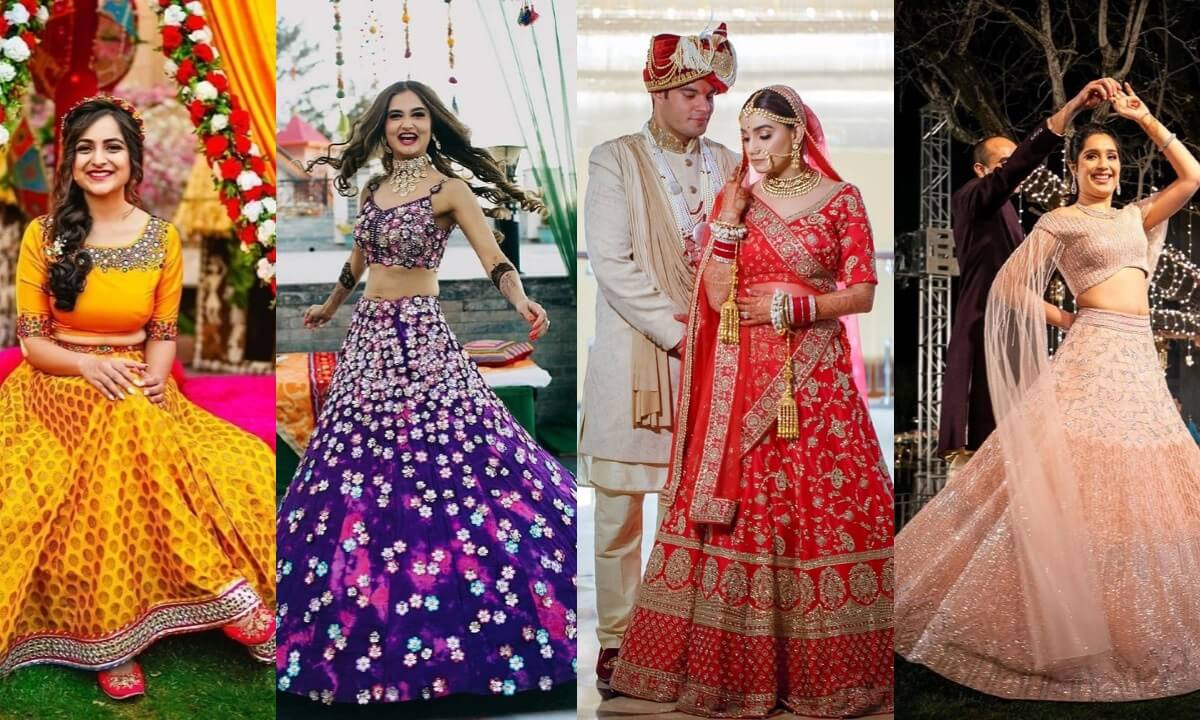 Attractive Wedding Dress Code ideas For Haldi, Sangeet, Wedding & Reception Function