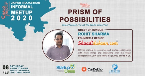 Prism Of Possibilities Edition 1.0: The First Ever Activity Based Informal Meet Up By 'Chalo Jaipur' | Jaipur, India