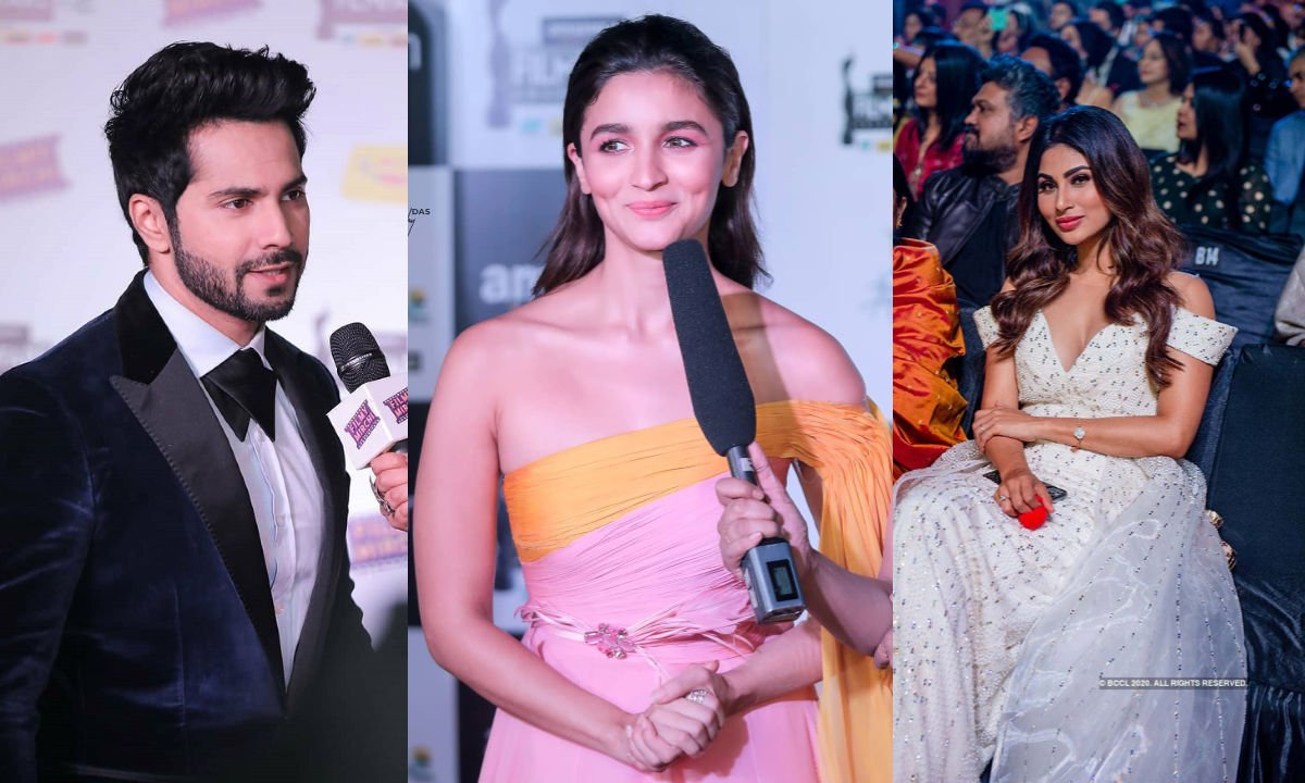 Rare and Unseen Pictures from The Popular 65th Amazon Filmfare Awards