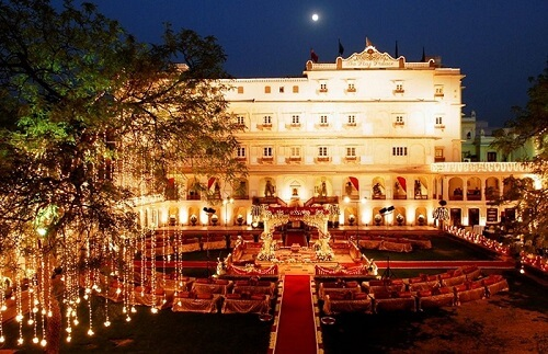 Top 10 Luxury Hotels In Jaipur For A Whimsical Wedding Experience