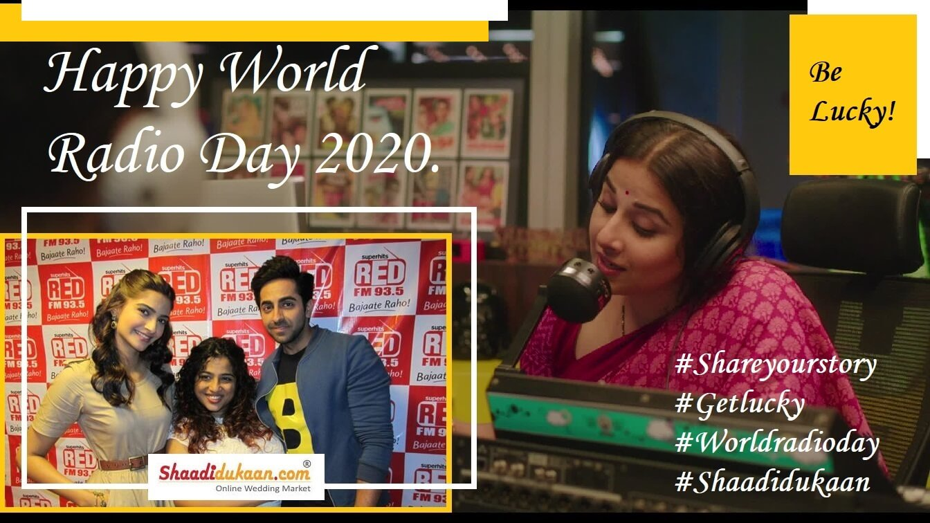Happy World Radio Day 2020 – A Remembrance of Vintage Technology by Shaadidukaan.com