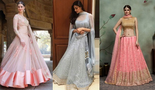 10 Stunning and Lightweight Lehenga Designs for Brides ...