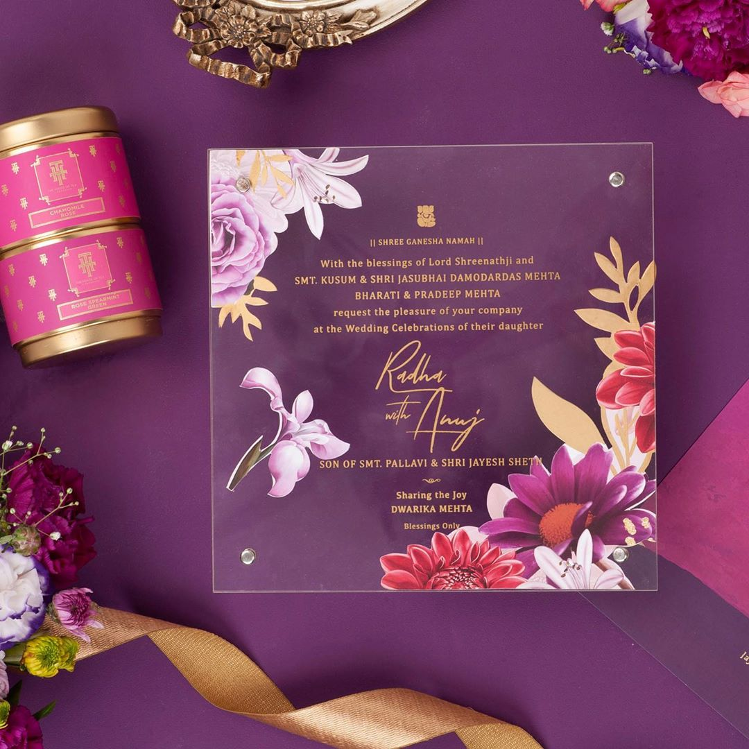 10 Exclusive Indian Wedding Invitation Card Ideas- Check Out Now!