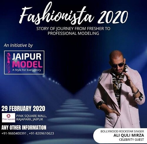 Fashionista2020: Glimpses Of The Much Awaited Fashion Show Initiated By Jaipur Models!