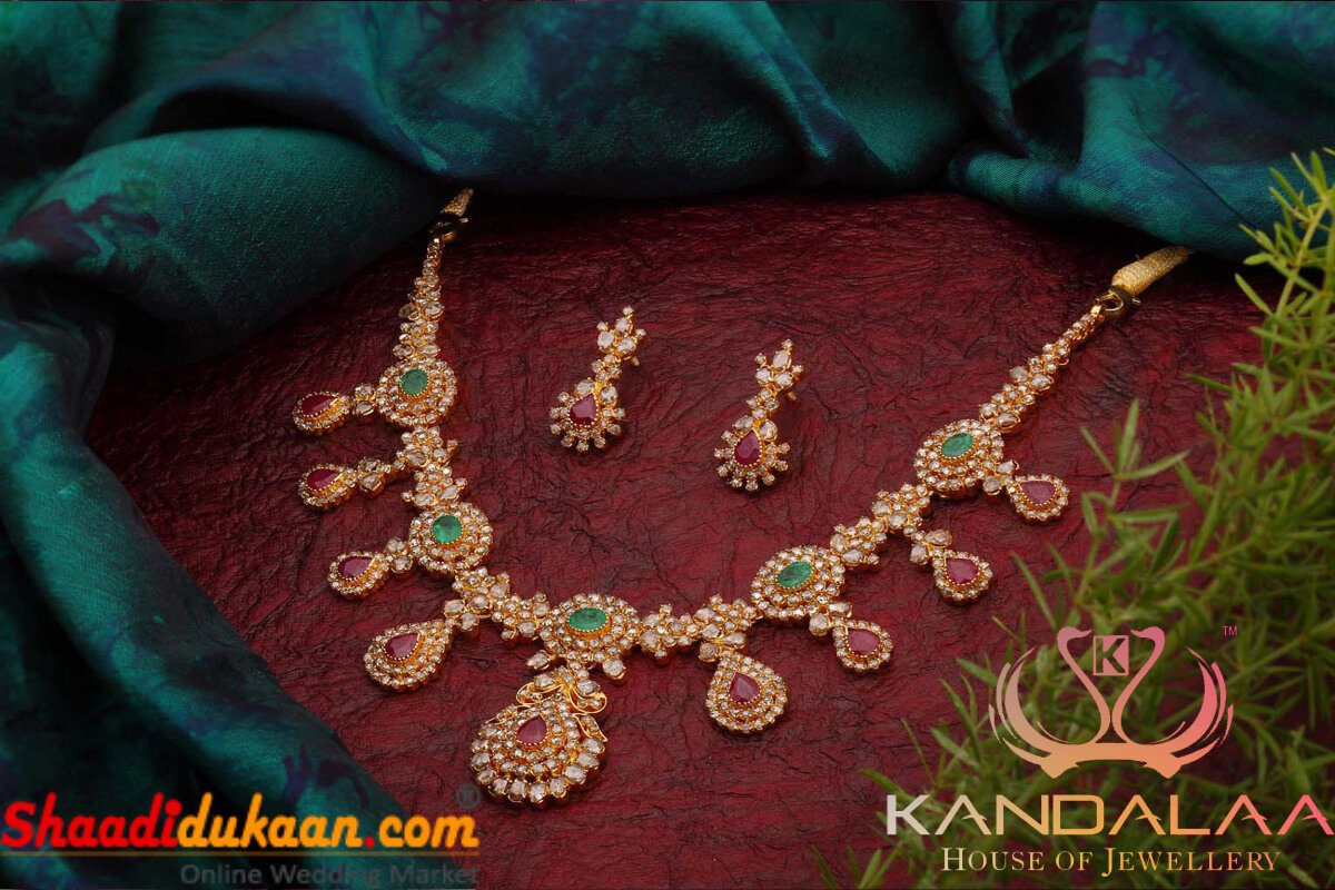 Get the Finest Bridal Jewellery in Bangalore For Wedding: Choose from the Exquisite Collection by Kandalaa House of Jewellery